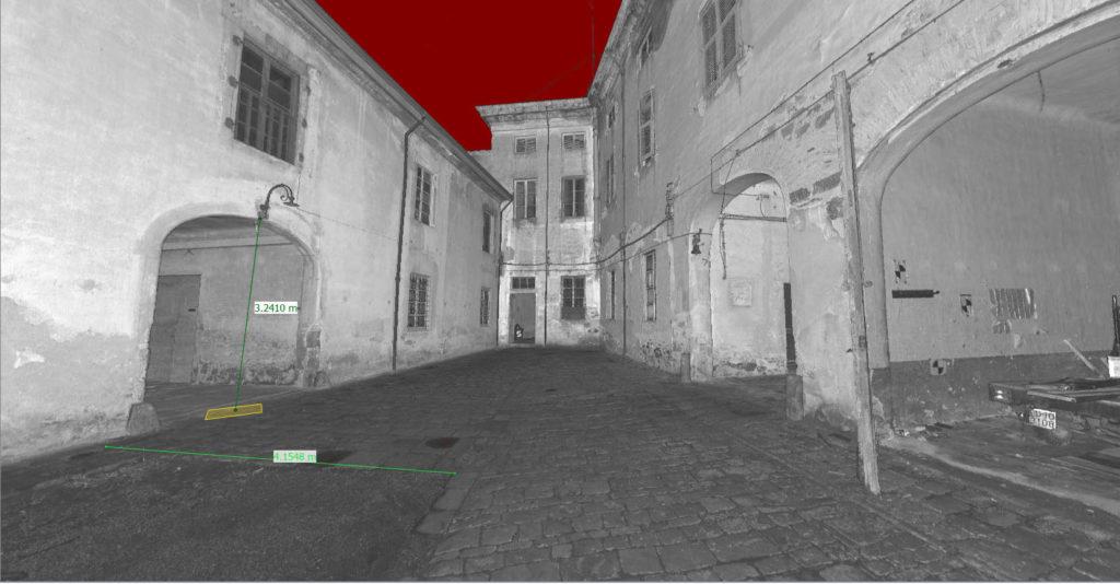 visualizzatore 3d del rilievo laser scanner 3d proeco