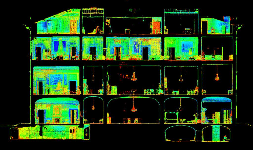 rilievo laser scanner nel settore architettonico proeco